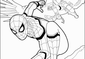 Coloring Pages Spiderman and Superman Spiderman Coloring Page From the New Spiderman Movie