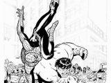 Coloring Pages Spiderman Vs Hulk Jukung Wallpaper Hulk N Spiderman