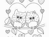 Coloring Pages Valentines Day Disney Ausmalbilder Eulen In Liebe Mit Herzen • Kostenloses Ebook