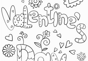 Coloring Pages Valentines Happy Valentine S Day Coloring Page