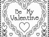 Coloring Pages Valentines Valentine Coloring Pages