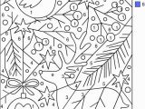 Coloring Pages with Number Codes Nicole S Free Coloring Pages Christmas Color by Number