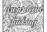 Coloring Pages with Quotes Printable Amazon Be F Cking Awesome and Color An Adult Coloring