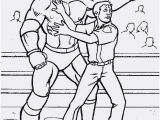 Coloring Pages Wwe Mal Vorlage