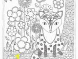 Coloring Pages You Can Color On the Computer Fox to Color Adult Coloring Page