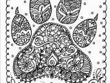 Coloring Pages You Can Print Instant Download Dog Paw Print You Be the Artist Dog Lover