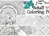 Coloring Pages You Can Print Out 24 More Free Printable Adult Coloring Pages