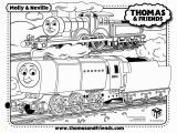 Coloring Picture Of A Train Engine Thomas the Train Color Worksheet