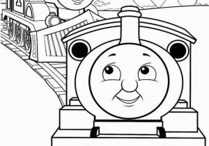 Coloring Picture Of Train Engine Thomas the Train Color Worksheet