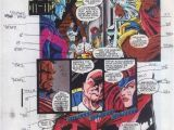 Coloring Pictures Of the X-men original 1992 X Men Marvel Color Guide Art Page Jean Grey