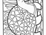 Coloring Turkey Pages for Preschoolers Coloring Pages Turkey Drawing for Kids Turkey Drawing