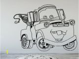 Coloring Wall Murals tom Mater Cars Disney Wall Decal Wall Art Wall Stickers Kids