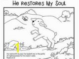 Colossians 3 23 Coloring Page 35 Best Psalm 23 Crafts Images