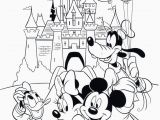 Colouring Pages Disney Mickey Mouse Cartoon Coloring Pages for Adults