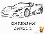 Colouring Pages Printable Race Car Striking Supercar Coloring Free Super Cars Coloring
