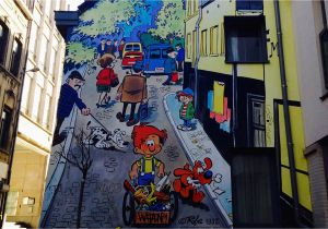 Comic Book Wall Murals 10 Fantastic Ic Strip Murals to Admire In Brussels
