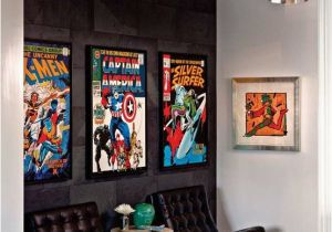 Comic Book Wall Murals Decorating Ic Book Colections and Displays Design Indulgences