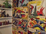 Comic Book Wall Murals Marvel Ics Wall Mural It Looks Amazing In the Figure Room