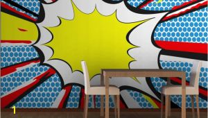 Comic Book Wall Murals Pop Art Ic Book Wall Mural Lay & Kj Room