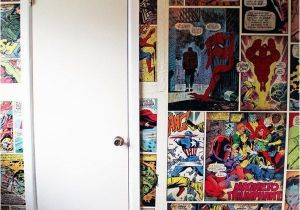 Comic Book Wall Murals Wallpaper Accent Wall Tips Diy for the Home