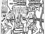 Comic Coloring Pages Ics Fantastic Four 1969 Books Adult Coloring Pages
