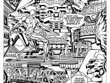 Comic Coloring Pages Ics Fantastic Four Silver Surfer 60s Books Adult Coloring Pages