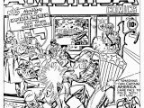 Comic Coloring Pages Simplified Free Marvel Ic Coloring Pages Page Adult Avengers
