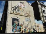 Comic Strip Wall Mural Ic Strip Trail Brussels