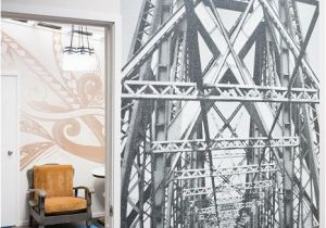 Commercial Wall Murals the Final Reveal Industrial Style Wallpaper Mural From the Trendy