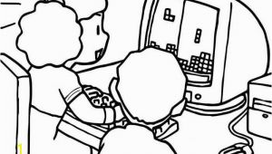 Computer Coloring Pages for Kids Puter Coloring Pages Printable