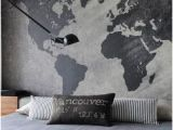 Concrete Wall Mural Ideas Map Mural On Concrete Walls Fun Idea for and Industrial