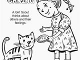 Considerate and Caring Coloring Page Inspirational Innovative Girl Scout Law Coloring Pages Printable In