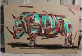 Contemporary Mural Artists Rhino Arlin Art Murals