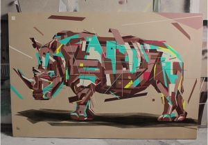 Contemporary Mural Artists Rhino Arlin Art Murals