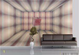 Contemporary Wall Murals Interior Wallpaper Mural Room Modern Art Wall Decor 3d Square Optical