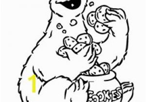 Cookie Monster Halloween Coloring Pages top 25 Free Printable Cookie Monster Coloring Pages Line