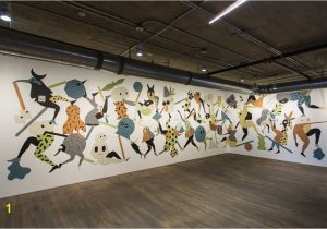 Cool Office Murals Mailchimp S New atlanta Fice Brings Street Art Indoors