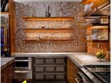 Copper Kitchen Backsplash Murals 22 Best Metal Tile Backsplash Images