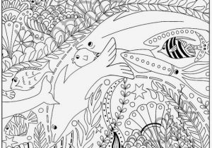 Coral Reef Coloring Page 20 Beautiful Coral Reef Animals and Plants Coloring Pages
