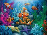 Coral Reef Wall Mural Tropics Here Es the Clowns 300pc Ez Grip Jigsaw Puzzle