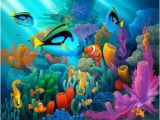 Coral Reef Wall Mural Underwater World 192 Pieces