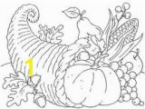 Cornucopia Basket Coloring Page 137 Best Coloring Pages Images In 2018