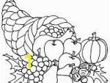 Cornucopia Basket Coloring Page 25 Best Coloring Pages Images