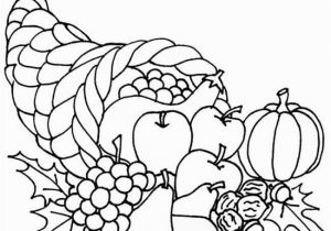 Cornucopia Coloring Pages Coloring Pages