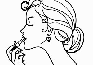 Cosmetic Coloring Pages Coloring Girls Coloring Pages for Girls Makeup Cosmetics Beautiful