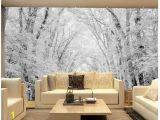 Country Scene Wall Murals 3d Landscape Wallpaper Mural 3d Wallpaper Woods Snow Scene Tv Wall