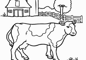 Cow Jumping Over the Moon Coloring Page Cow Coloring Pages