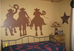 Cowboy Wallpaper Murals Cowboy Silhouette Mural