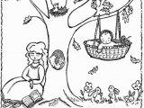 Cradle Coloring Page Nursery Rhymes Coloring Sheets Printable Nursery Rhyme Coloring
