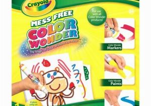 Crayola Color Wonder 30 Page Refill Paper Crayola Color Wonder Drawing Pad 30 Pages Of Mess Free Canvas to